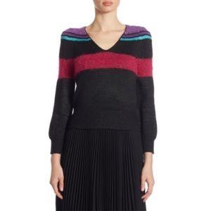 Marc Jacobs Striped Merino Wool Sweater XL